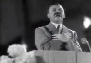 ナチスの変態糞親父による「やったぜ」の演説